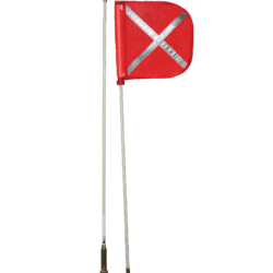Mine Spec Safety Flag