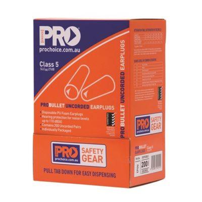 Probullet Disposable Uncorded Earplugs