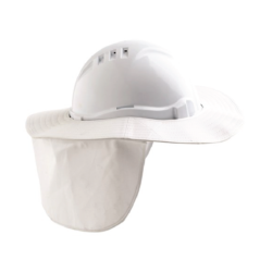 V6 Hard Hat Brim – White