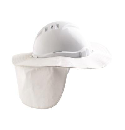 V6 Hard Hat Brim – White