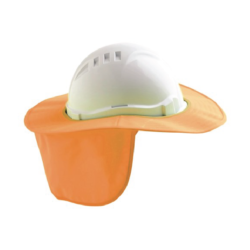 V6 Hard Hat Brim – Orange