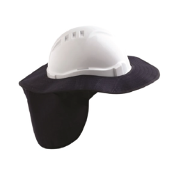 V6 Hard Hat Brim – Blue