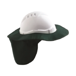 V6 Hard Hat Brim – Green